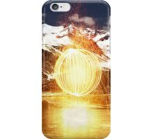 Elements Collide II iPhone Case/Skin