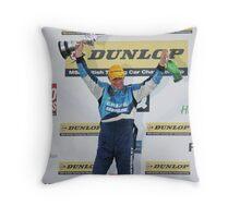 BTCC Champion Jason Plato Throw Pillow