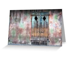 New Orleans Windows and Doors I Greeting Card