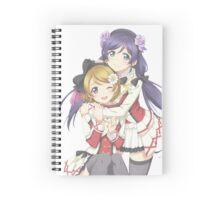 Hanayo + Nozomi! Spiral Notebook