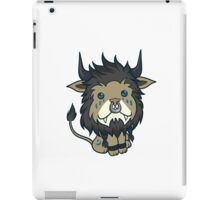 Blue Feral Druid iPad Case/Skin