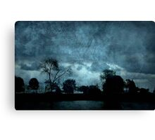 Stormy Weather © Canvas Print