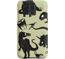 Silhouetted Dinosaurs Samsung Galaxy Case/Skin