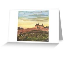 Chateau Elan - Vineyard Landscape  Greeting Card