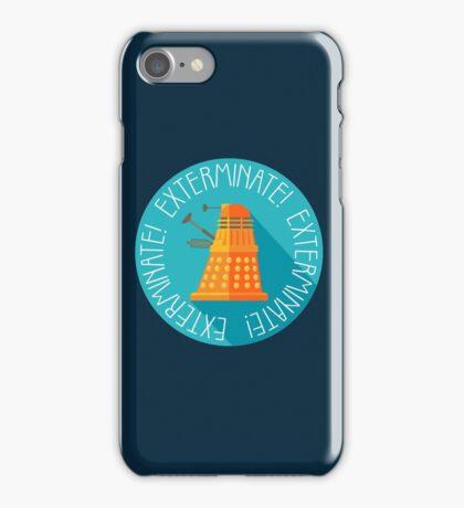 Doctor Who Dalek Exterminate! iPhone Case/Skin