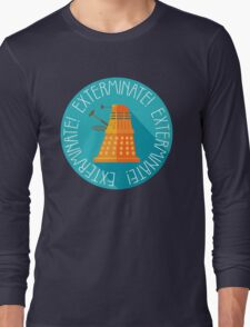 Doctor Who Dalek Exterminate! Long Sleeve T-Shirt