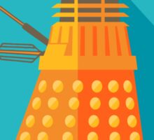 Doctor Who Dalek Exterminate! Sticker