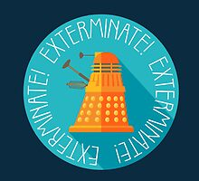 Doctor Who Dalek Exterminate! by illustore