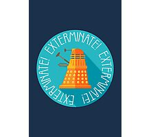Doctor Who Dalek Exterminate! Photographic Print