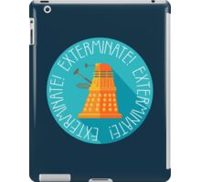Doctor Who Dalek Exterminate! iPad Case/Skin