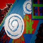 Southwest Winter Abstract by Joyce MacPhee