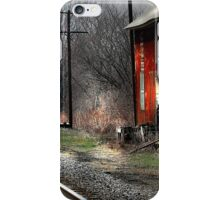 """Standing Trackside"" iPhone Case/Skin"