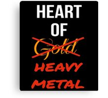 Heart Of Heavy Metal Canvas Print