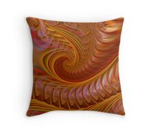 Autumn Waves Throw Pillow