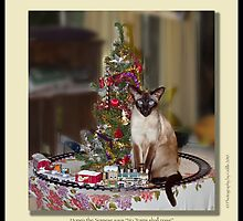 cat calendar #12 Honey for Christmas  by Odille Esmonde-Morgan