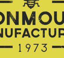 MONMOUTH Sticker