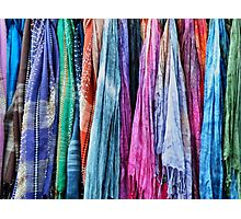 More Scarves Photographic Print