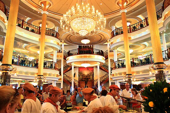 Time for lunch. Adventure of the Seas Cruise. by terezadelpilar~ art & architecture
