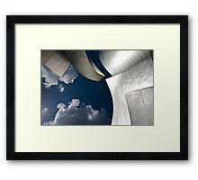 Gas and Solids Framed Print