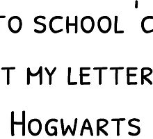 I lost my letter for Hogwarts by TimonPower77