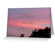 Hope for the cure Greeting Card