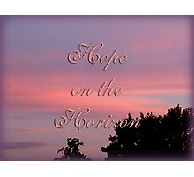 Hope for the cure Photographic Print
