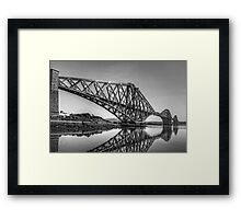 North Queensferry Reflections - B&W Framed Print