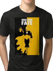 DOCTOR FATE Tri-blend T-Shirt