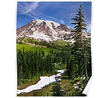 Dappled With Snow Poster