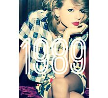 Taylor Swift 1989 Designs Photographic Print