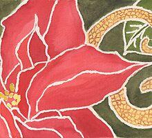 Christmas Poinsettia by Pamela Hirsch
