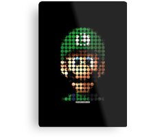 Luigi - Pictodotz Metal Print