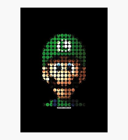 Luigi - Pictodotz Photographic Print