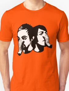 Death From Above 1979 - Head's Up Elelphant Head's T-Shirt