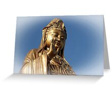 bodhisattva of compassion Greeting Card