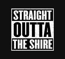 Straight Outta The Shire - Movie Mashup - Hobbit Homeboys - Nerd Humor - Hobbits Unisex T-Shirt