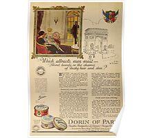 Advertisements Photoplay Magazine July through December 1921 0236 Dorin of Paris Poster