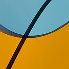 Stem and Dome Abstract  by Joy  Rector