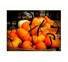 Baskets of Autumn Art Print