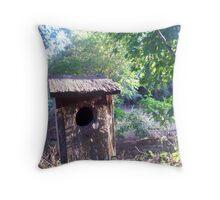 Gampaw's Birdhouse Throw Pillow