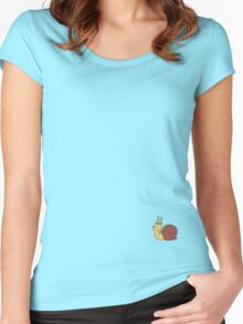 Adventure Time Snail Trance - Small Women's Fitted Scoop T-Shirt
