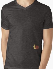 Adventure Time Snail Trance - Small Mens V-Neck T-Shirt
