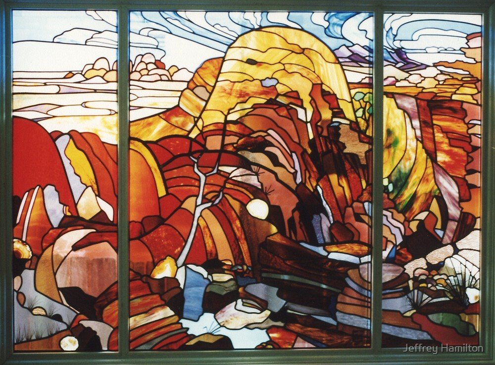 The Desert by Jeffrey Hamilton