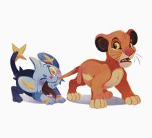 Simba and Shinx by erinaugusta
