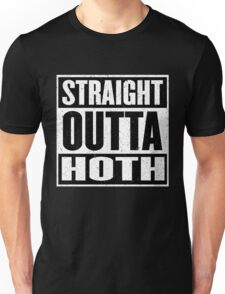 Straight Outta Hoth - Movie Mashup - Rebels in the Hood - Science Fiction Nerdy Humor Unisex T-Shirt