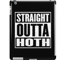 Straight Outta Hoth - Movie Mashup - Rebels in the Hood - Science Fiction Nerdy Humor iPad Case/Skin