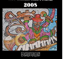 2008 New Orleans Jazz Fest Poster by damon  milton