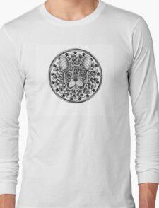 Ornate French Bulldog Long Sleeve T-Shirt