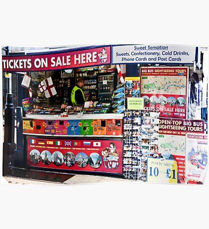 Corner Shop Poster