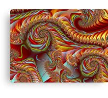 PONG4-Autumn in the Breeze-nclames2 + Parameter Canvas Print
